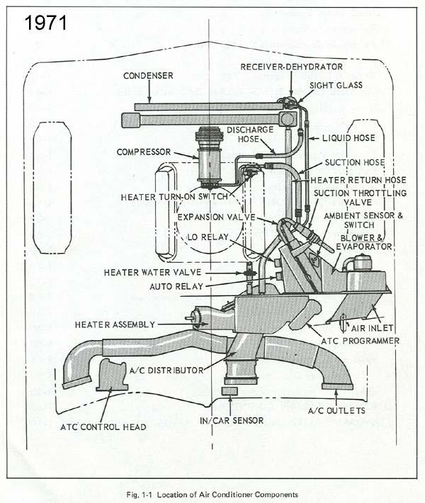 1971 vw Motor diagram