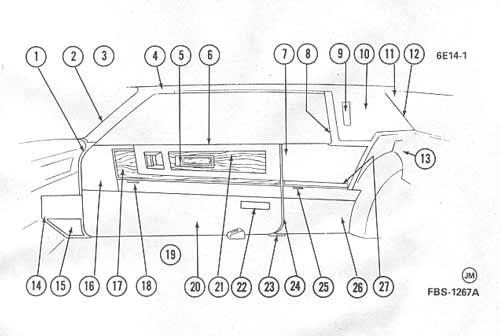 1960 cadillac vacuum diagram