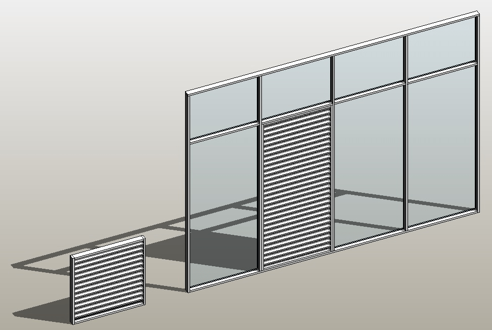 Revit Architecture 2014 Create A Curtain Wall Type With