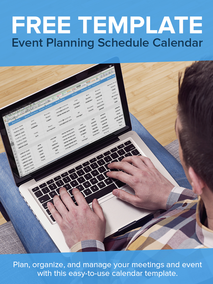 The Ultimate Conference Planning Calendar Template CadmiumCD