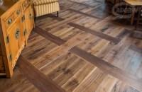 Rustic American Walnut flooring pattern - CADORIN