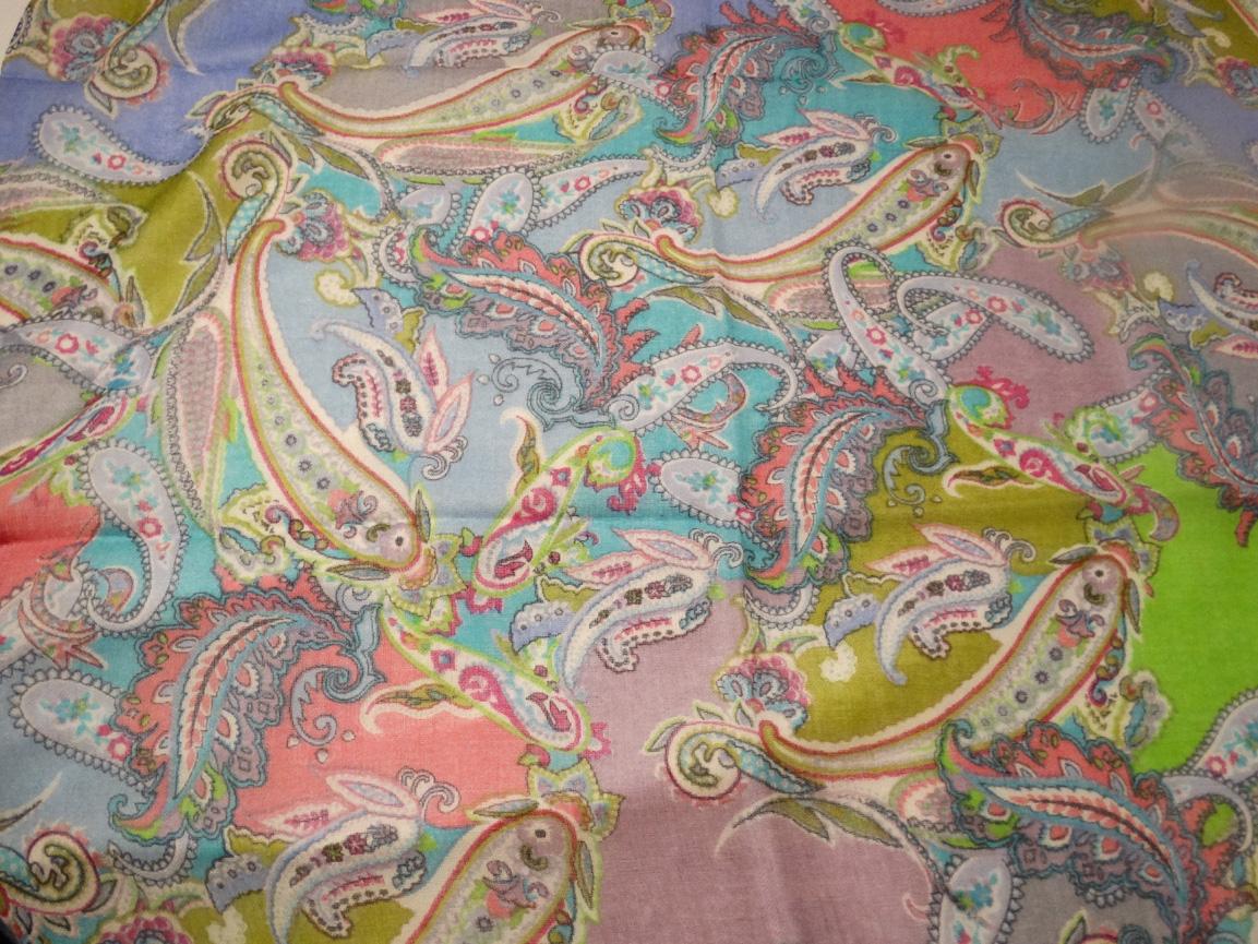 Sjaal Paisley Roze Cadosa