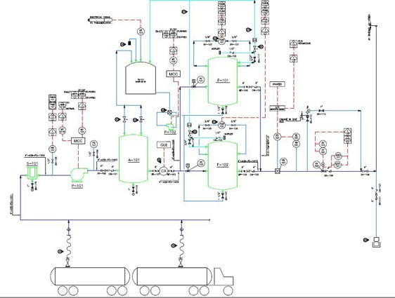 Piping Layout Design Wiring Diagram