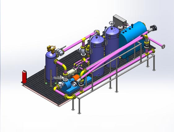 Piping Design Engineering 2D Piping Layout, PID Drafting Services