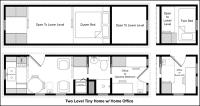 Easy Tiny House Floor Plans | CAD Pro
