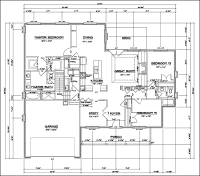 Easy House Blueprint Software | CAD Pro