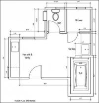 Bathroom Remodeling Design Plans Software | CAD Pro