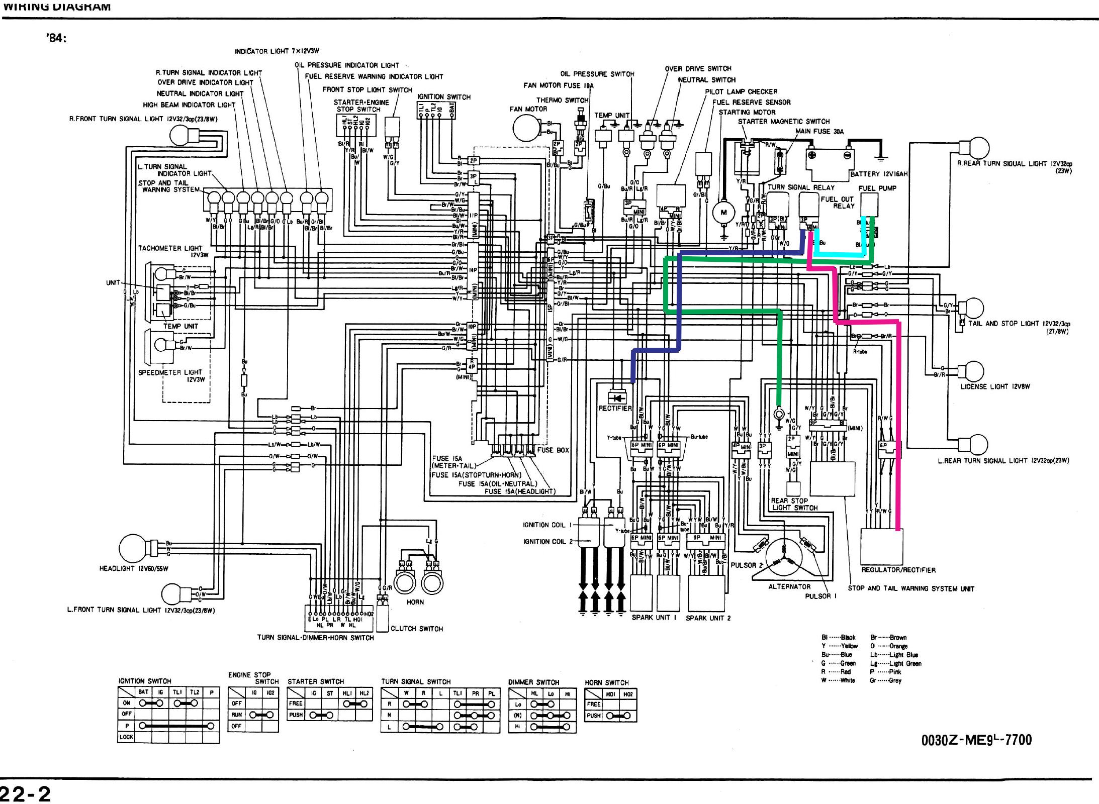 motorcycles shadow 500 wiring diagram