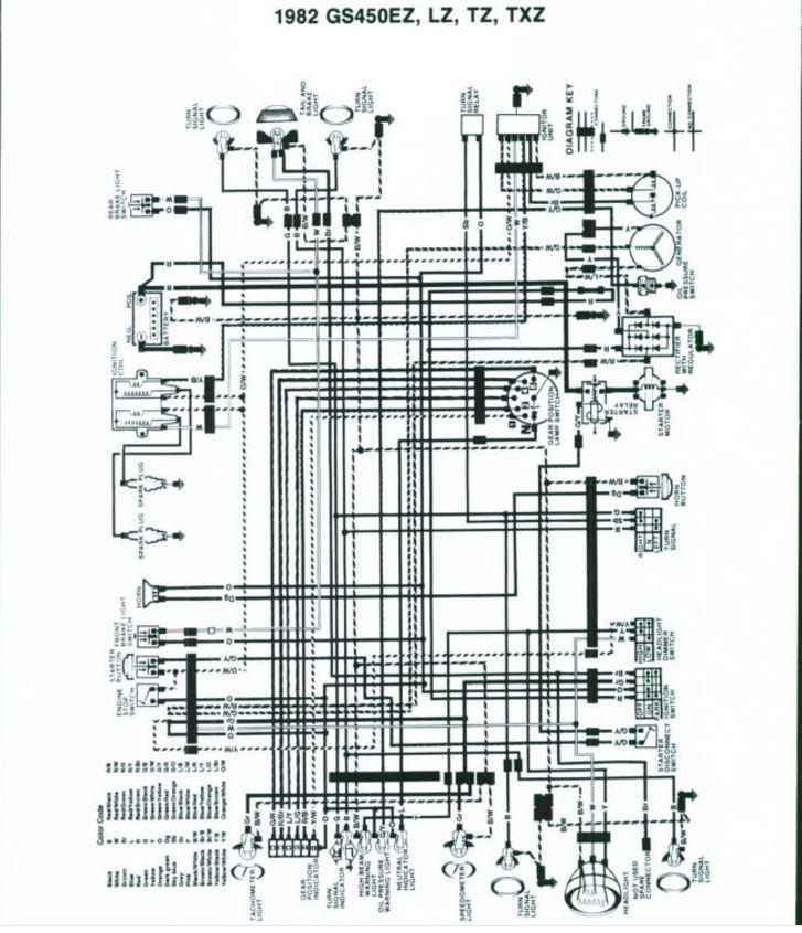 Suzuki Gs450 Bobber Wiring Diagram Electronic Schematics collections