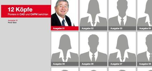 """Mit Peter Bien von der Robert Bosch AG eröffnet pit-cup seine neue Reihe """"12 Köpfe. Pioniere in CAFM (und CAD)"""""""