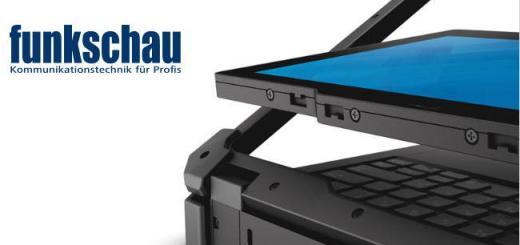 Insgesamt zehn besonders robuste Tablet-PCs wie diesen hier von Dell stellt die Zeitschrift funkschau in einem aktuellen Artikel vor