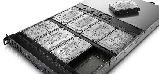 Festplatten mit 8 TB liefert Seagate jetzt an ausgesuchte Kunden aus - im Rack wären damit 64 TB pro Einschub mölgich