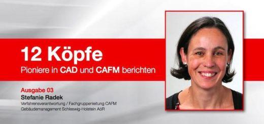 Stefanie Radek vom Gebäudemanagement Schleswig-Holstein (GMSH) erläutert in der Reihe 12 Köpfe, wie sie den Wechsel der CAFM-Software im laufenden Betrieb realisierte