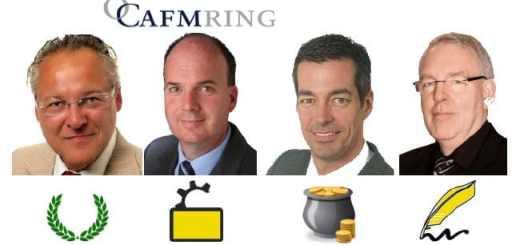 Der Vorstand des CAFM-Rings 2014/2015 (v.l.): Ralf Golinksi, Klaus Aengenvoort, Frank Bögel, Rudolf Brendel