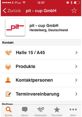 Die Medica-App verrät es: Die eigenen Apps zeigt pit-cup auf Stand A45 in Halle 15.