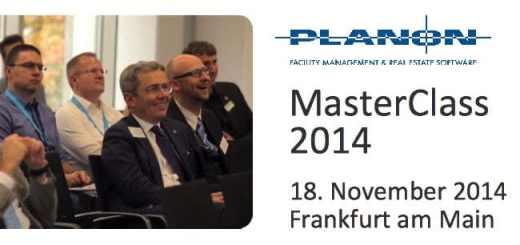 Die Planon MasterClass 2014 findet am 18. November in Frankfurt am Main statt