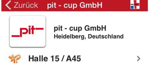 pit-cup auf der medica 2014
