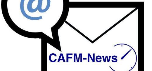 Ab sofort sind die Nachrichten der CAFM-News auch in einer wöchentlichen Zusammenfassung verfügbar