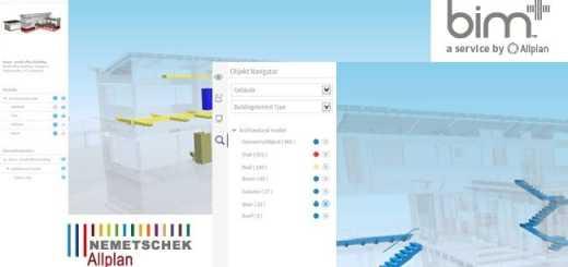 Nemetschek Allplan hat bim+ um Funktionen für Gebäudestrukturen und Objektmanagement erweitert
