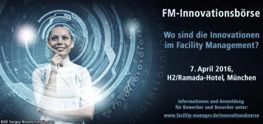 Neues Format und ohne FM-Messe: Der FM Anwenderpreis wird zur FM-Innovation des Jahres und 2016 auf einer eigenen Veranstaltung verliehen