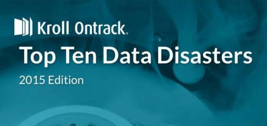Einmal jährlich veröffentlicht Datenretter Kroll Ontrack seine Top-10 der weltweiten Datendesaster