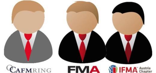Die Verbände CAFM-Ring, FMA und IFMA Austrian Chapter kooperieren ab sofort bei Themen wie BIM, IT im FM und Aus- und Weiterbildung