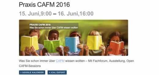 Der neue Event-Kalender auf CAFM-News kann umfangreiche Informationen zu jeder gelisteten Veranstaltung liefern