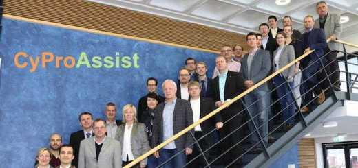 Zwölf Forschungspartner bilden den Brainpool für das Forschungsprojekt CyProAssist