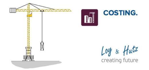 Mit dem neuen Modul Costing von Loy & Hutz lassen sich Baukosten kontrollieren