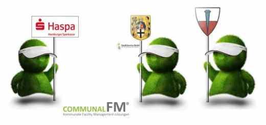 Drei neue Kunden für Communal FM – die Hamburger Sparkasse allerdings für Datendienstleistungen und nicht für CAFM