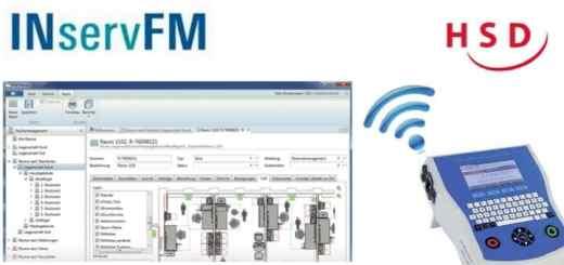 HSD präsentiert zur INservFM 2017 die CAFM-Software Nova-FM mit einer WLAN-Schnittstelle für Prüfgeräte