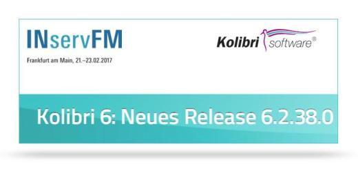 Kolibri Software ist mit dem frisch vorgestellten Release seiner CAFM-Software auf der INservFM 2017