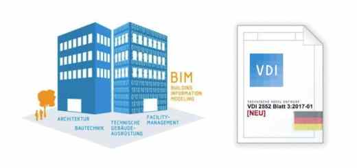 Der VDI hat jetzt mit Blatt 3 den ersten Teil seiner BIM-Richtlinien-Reihe 2552 veröffentlicht