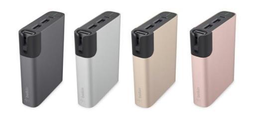 Apple lässt grüßen: Den Belkin Power Rockstar 6600 gibt es in vier aktuellen Cupertino-Farben