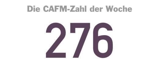 Die CAFM-Zahl der Woche ist die 276 – für die entsprechende DIN-Norm zum Hausbau