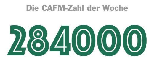 Die CAFM-Zahl der Woche ist die 284.000 – so viele Angriffe gab es in dne ersten neun Wochen 2017 auf IT-Systeme der Bundeswehr