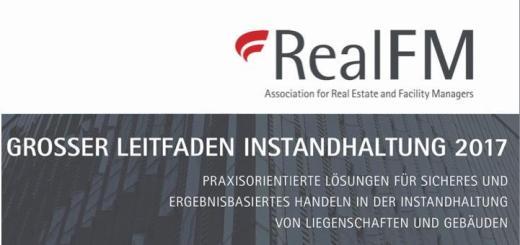 RealFM hat jetzt seinen Großen Leitfaden Instandhaltung 2017 veröffentlicht