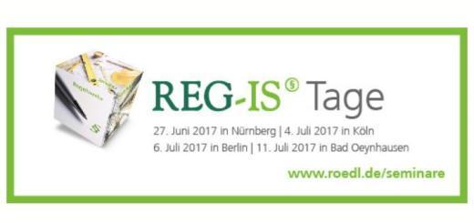 Die REG-IS Tage 2017 bieten Informationen zum Thema Betreiberverantwortung in vier deutschen Städten