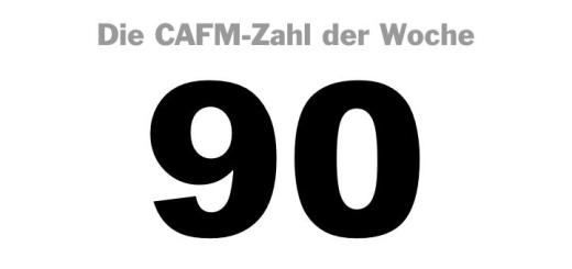 Die CAFM-Zahl der Woche ist die 90 – für 90 Prozent rückgewonnenes Öl aus ölverseuchten Böden