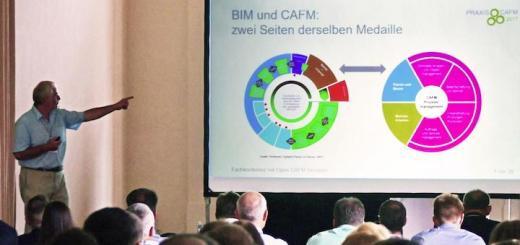 BIM und CAFM sind zwei Seiten derselben Medaille – eine Erkenntnis aus der Tagung CAFM Praxis 2017
