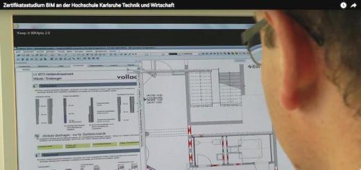 Nicht nur Software: Auch die 80 Prozent Methodik, die BIM ausmachen, vermittelt die Zusatz-Qualifizierung an der Hochschule Karlsruhe