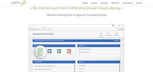 cafm (24) bietet seinen Kunden jetzt Single-Sign-On und weiteren Komfort