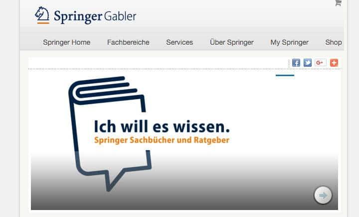 Ratgeber mit Fußangel: der Wissenschafts-Verlag Springer Gabler bietet Open Access Publikationen an – mit CC BY 4.0 Attributierung