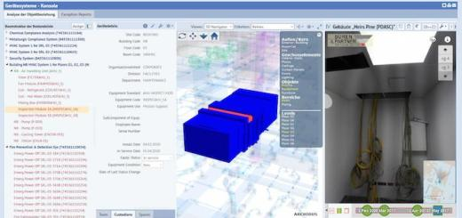 Archibus und Navvis haben gemeinsam mit Büren & Partner CAFM und IndoorViewer integriert