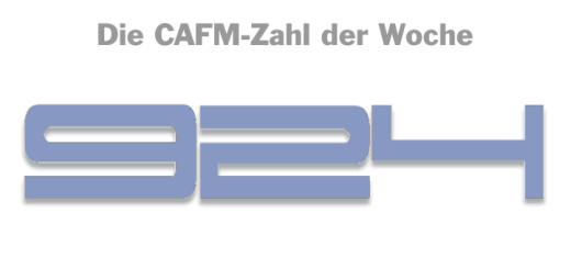 Die CAFM-Zahl der Woche ist die 924 – für die GEFMA Richtlinie 924 Datenmodell, Kataloge und Ordnungsrahmen für das FM