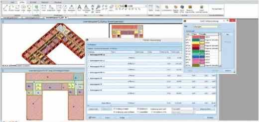 Mit importierten BIM-Daten lassen sich in Keylogic auch diverse Prozesse managen