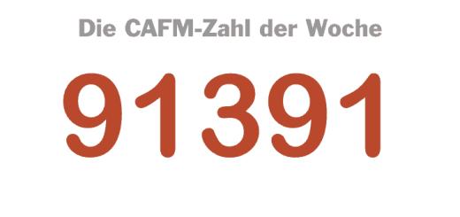 Die CAFM-Zahl der Woche ist die 91391 für die geplante DIN SPECKick-off DIN SPEC zu gemeinsamen Datenumgebungen für BIM Projekte