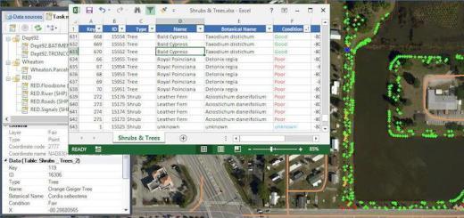 GIS Project hat den Excel-Import von Visa FM überarbeitet und verbessert