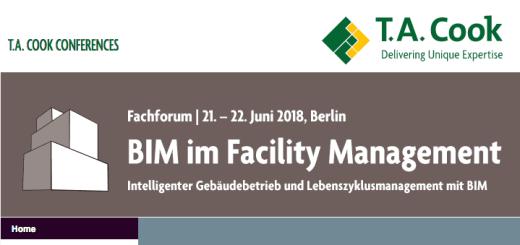 BIM im Facility Management ist das Thema einer zweitägigen Veranstaltung von T.A. Cook im Juni in Berlin