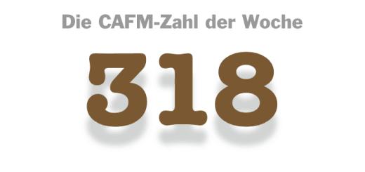 Die CAFM-Zahl der Woche ist die 318 – als Beispiel für die gefühlt zahllosen Werbepartner, die einen im Web auflauern